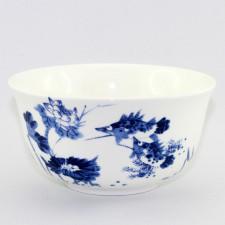 Reisschalen-Set Porzellan mit Bildmotiv