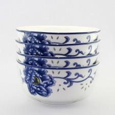 Reisschalen-Set Porzellan