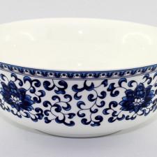 Reisschüssel / Suppenschüssel aus Porzellan