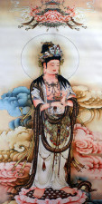 Stoffbild Guanyin