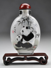 Snuff Bottle Panda
