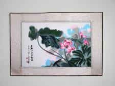 Stickbild Chinesische Blumen
