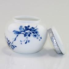 Chinesische Teedose Porzellan (rund), Porzellanserie