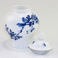 Chinesische Teedose Porzellan, Teeurne, Porzellanserie