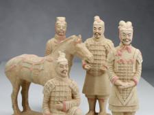 Terrakotta-Armee Krieger Set (hell, 22cm Serie)