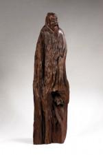 Wurzelholz-Skulptur