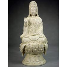 Guanyin auf Lotus Lianwo