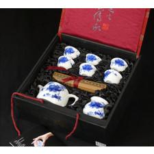 """Chinesisches Teeservice """"Granatapfelblüte"""" Manufaktur Guzhen"""