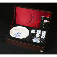 """Chinesisches Teeservice """"Bambus"""" Manufaktur Guzhen"""