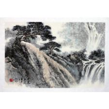 """Peng Guo Lan """"Wasser wie Kristall"""", chinesische Malerei"""