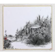 """An Ping Ping """"Chinesischer Garten"""", chinesische Malerei"""