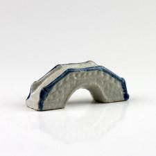 """Keramikfigur """"Chinesische Brücke"""", Aquarium Deko"""