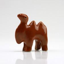 "Bonsaifigur ""Kamel"", Keramik-Deko Trampeltier"