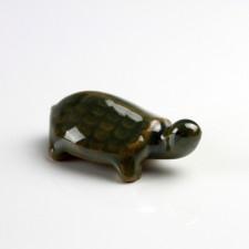 Miniatur Schildkröte Bonsaifigur, Keramikfigur