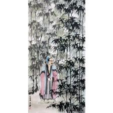 """Wang Xuan """"Die geheime Botschaft"""", chinesische Malerei"""