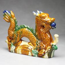 Chinesische Drachen Figur, Tang-Keramik-Stil