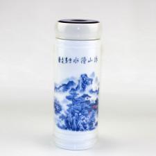 Chinesische Teedose Berglandschaft