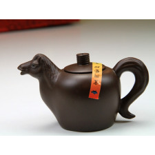 """Yixing Teekanne """"Chinesische Tierkreiszeichen – Das Pferd"""""""