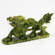 Chinesischer Drache, jadefarben
