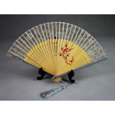 """Chinesischer Taschenfächer """"Pflaumenblüte"""", Handfächer"""