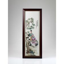 Chinesisches Wandbild, asiatische Wanddeko