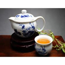 """Chinesisches Teeservice aus Porzellan """"Vogel im Blumenmeer"""""""