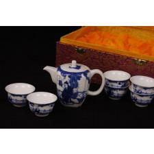 Blau-Weiß Porzellan