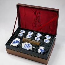 """Chinesisches Teeservice """"Der stolze Hahn"""" Manufaktur Guzhen"""