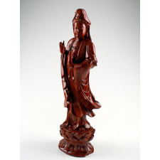 Guan Yin Holzskupltur