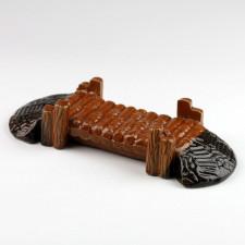 "Bonsaifigur ""Große Holzbrücke"", chinesische Keramik"