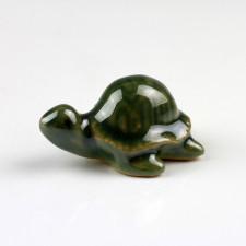 "Keramikfigur ""Wasserschildkröte"", Aquariumdeko"