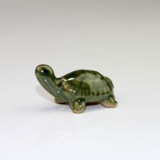 "Keramikfigur ""Schildkröte"", Bonsaifigur"