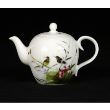 Porzellan-Teekanne Handbemalt