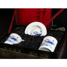 """Chinesisches Geschenkset """"Zauber des Lotus"""" Manufaktur Guzhen"""