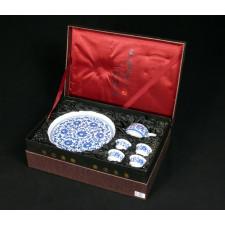 """Chinesisches Teeservice """"Verzierter Lotus"""" Manufaktur Guzhen"""