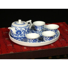 "Chinesisches Teeservice Porzellan ""Lotus"""