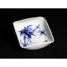 """Schmuckschale aus Porzellan """"Bambus"""", Unikat"""