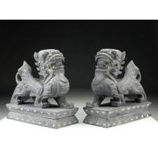 """Steinfiguren """"Pi Xiu"""", Männchen groß"""