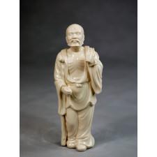"""Klassische Porzellanfigur """"Die Acht Unsterblichen - Li Tieguai"""""""