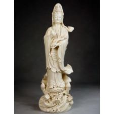 """Blanc-de-Chine """"Anmutige Göttin der Barmherzigkeit"""""""