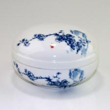 """Chinesische Porzellandose """"Pflaumenblüte"""""""