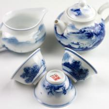 Siegel der Manufaktur, chinesische Teeschalen