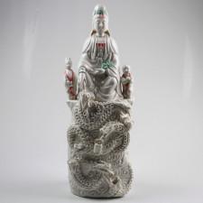 Kuan Yin Keramikskupltur