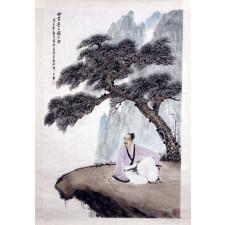 """Wang Xuan """"Rückblick"""", chinesische Malerei"""