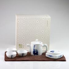 """Reise-Teeset und Teeservice """"Zen (Chan)"""", Tee-Set für unterwegs"""