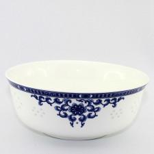 """Reisschale oder Suppenschale, chinesisches Porzellan """"Rankenornament"""""""
