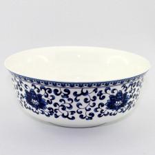 "Reisschüssel oder Suppenschüssel, asiatisches Porzellan ""Blütenornament"""