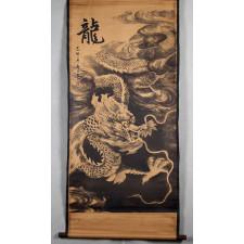 Rollbild Drache chinesische Malerei