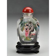 """Snuff Bottle """"Die Vier Schönheiten"""""""