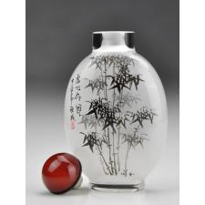 """Snuff Bottle """"Im Schatten des Bambus"""""""